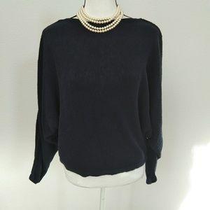 Joie navy blue sweater size medium
